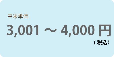 平米3001円~4000円(税込)以下の商品一覧へ